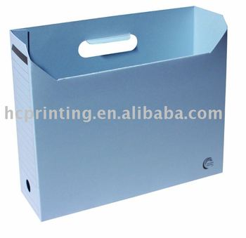 recycled office stationery hanging file holder - Hanging File Box