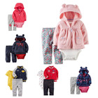 Wholesale New Design High Quality Cardigen Set Carter 3 pcs Baby Clothing Set