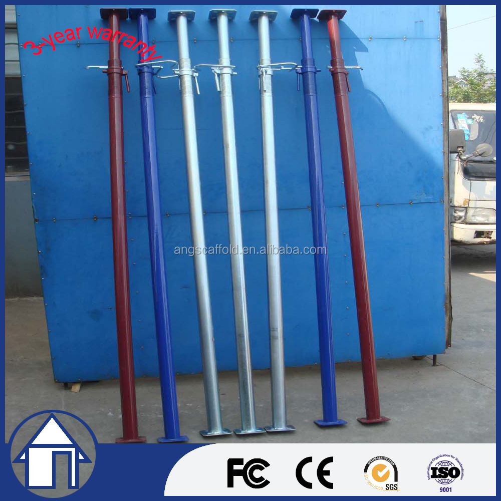 Scaffolding pipe support system steel telescopic shoring construction props
