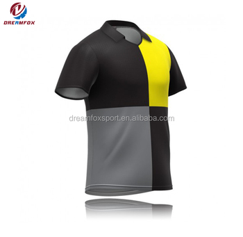 Best quality new design sublimated cricket team jersey 2019 sports thirt  designs cricket jersey short sleeve 950320770