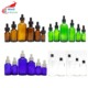 inventory 5ml 10ml 15ml 20ml 30ml 50ml 60ml 100ml clear green amber blue essential oil glass dropper bottle GDB-A888