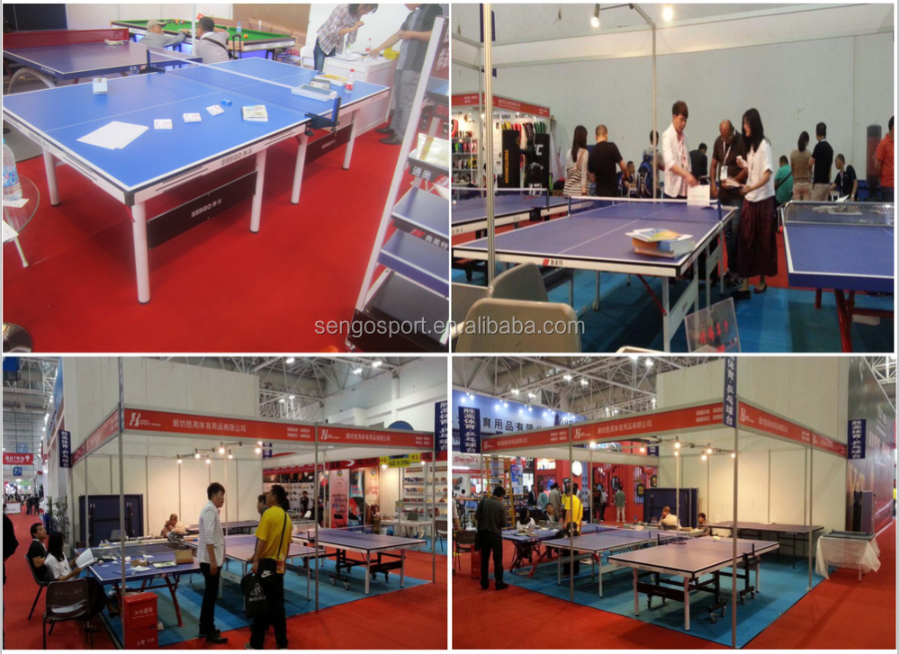 High Quality 25 Mm Table Tennis Table With Official Size Ping Pong Table