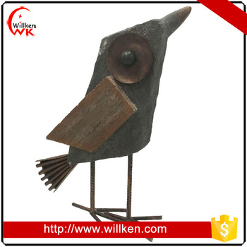 2017 new arrival handmade interesting sculpture MGO birds for sale
