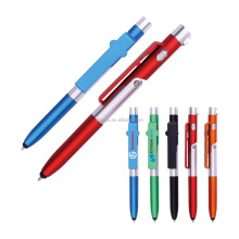 Hot sale colorful promotion multifunction stand pen with novelty stationery