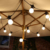 Commercial Grade Milky G50 Ball Festoon String Sets Wedding Event Holiday Xmas House Bistro Lighting