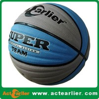 rubber basketball promotional official size 7 and size 5