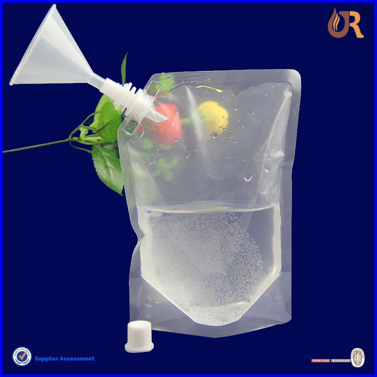 Wine Bag With Spout Tap Pouches For Liquid Stand Up Pouch Plastic Bags Funny Product On Alibaba