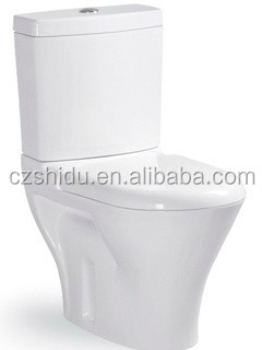 made in China high quality ceramic toilet chair plastic