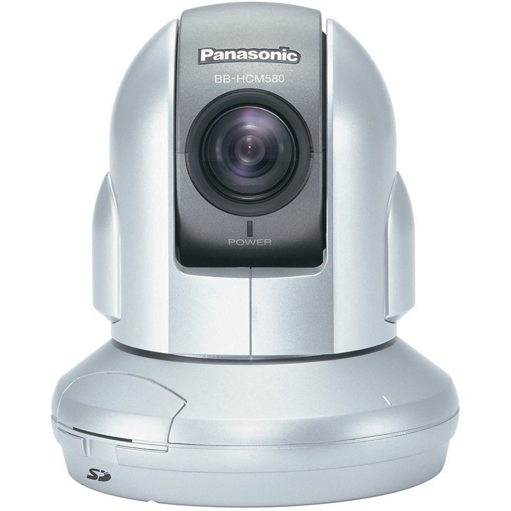 Panasonic BB-HCM580A 21x Optical Zoom Pan/Tilt Security Network Camera (Silver)