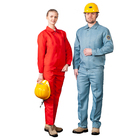 Acid resistant anti-static work clothes labor clothing