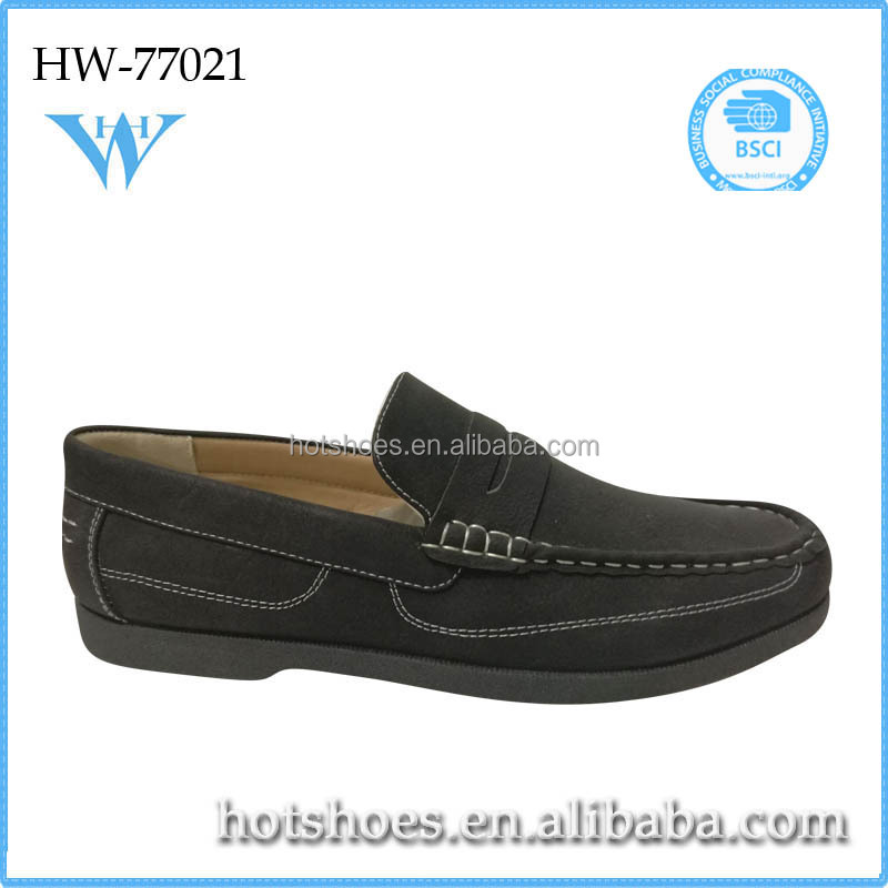 Brand suitable simple style gentle casual shoes mens slip on shoes