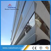 advanced construction material /exterior wall aluminum composite panel /ACM ACP alucobond price