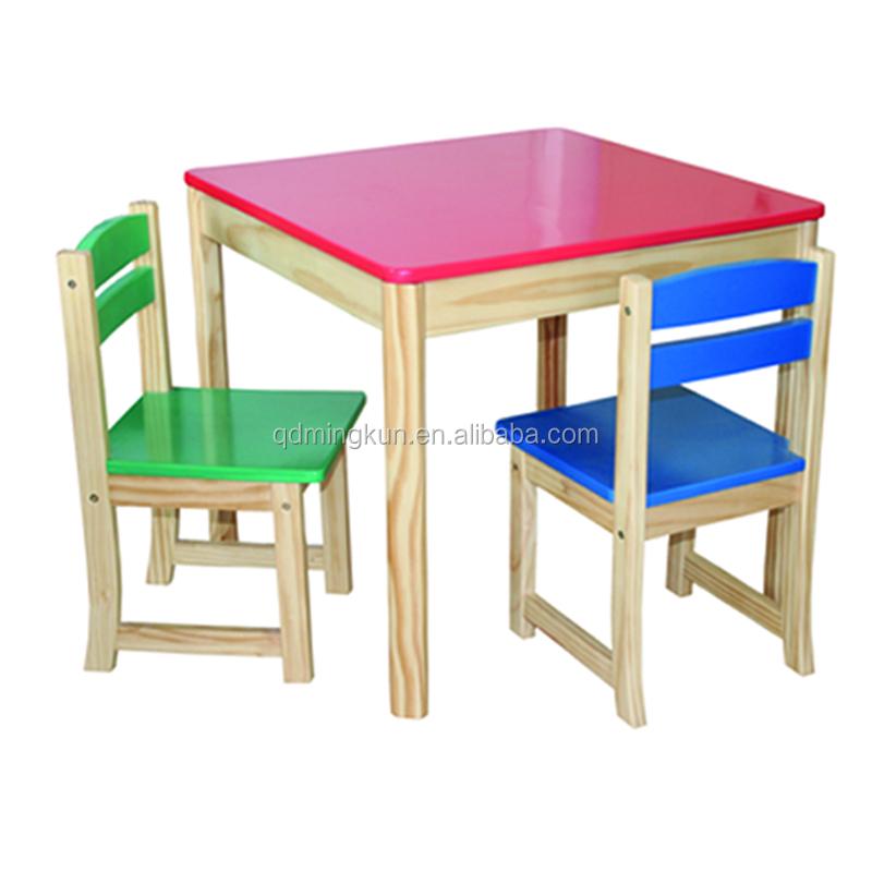 pas cher en bois tables et chaises pour enfants tables d. Black Bedroom Furniture Sets. Home Design Ideas