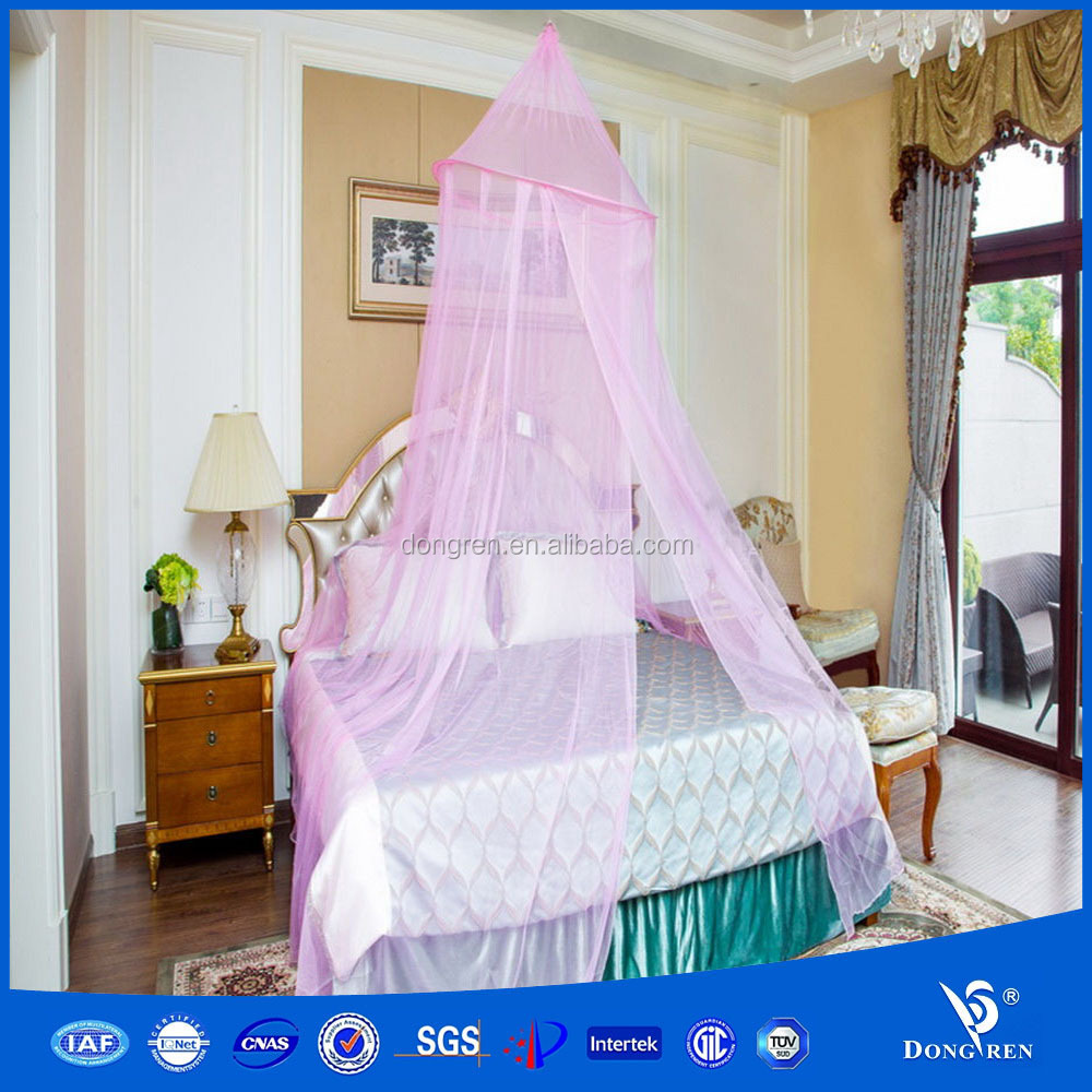 EMF protetcion Bed mosquito net Dome Elegant Polyester Fabric Bed Netting Canopy Mosquito Net