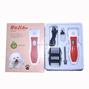 Good quality pet electric hair cutter rechargeable ceramic cutter pet shave wool implement healthy economical with low noise