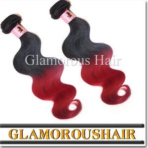Top Selling New Arrival Private Label Best Quality Top Quality Double Drawn No Shedding red indian remy hair weave