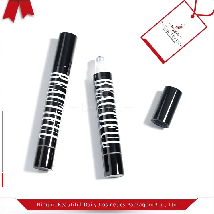 Customized factory directly true black cosmetic sample packaging