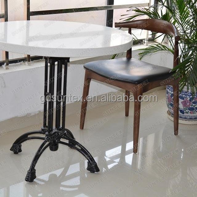 artfificail quartz stone table set artificial stone restaurant table modern cafe table