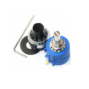 10 turn Multiturn Potentiometer Adjustable Resistor Potentiometer 100K 3590S-2-104L