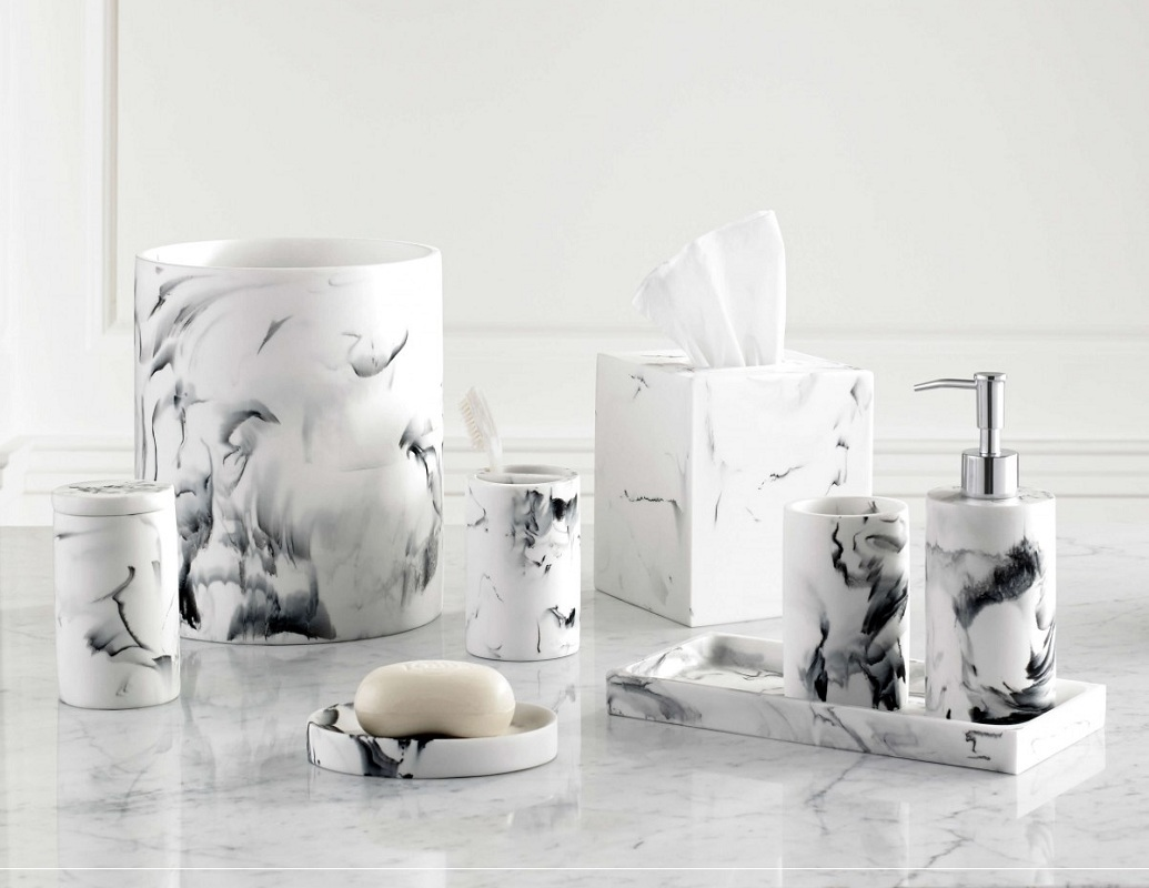 Modern White 5 Star Hotel Resin Faux Marble Bathroom Accessories Set Buy Marble Bathroom Set Resin Bathroom Set Accessories Bathroom Set Product On Alibaba Com
