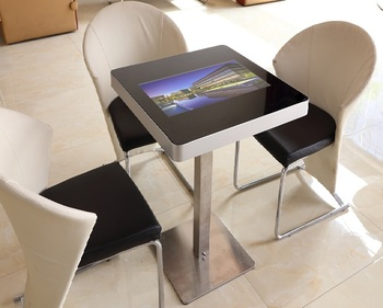 215inch Single Screen And Double Screen Capacitance Touch Touch Screen Coffee Table Kiosk Android Touch Square Table Buy Touch Screen Coffee