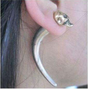 Skull Earring One Piece Earrings Punk Stud Cute Product On Alibaba