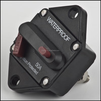 waterproof 50 amp auto circuit breaker Hi amp, cover is available