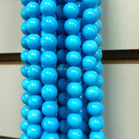 American Sleeping Beauty Turquoise Round Beads Wholesale Price