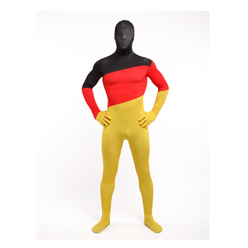 New Costume Full Bodysuit red colors lycra Catsuit Zentai for male