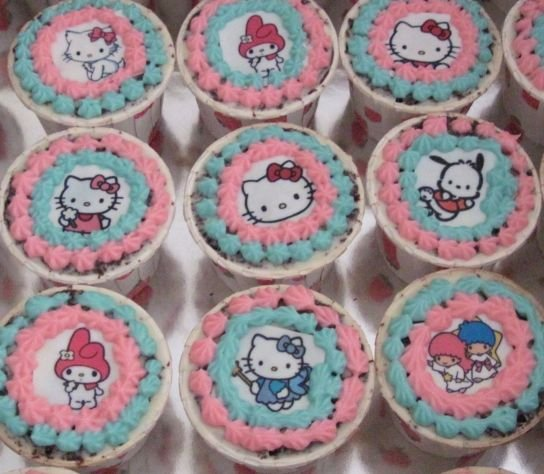 Hello Kitty Cupcakes Buy Cupcakes Product On Alibaba Com