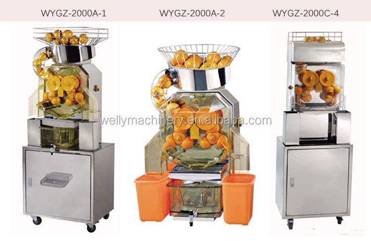 Commercial jus hydraulique presse machine/machine à jus d'orange/presse-agrumes machine