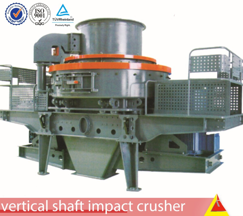 2015 new product 100-150t/h big hydraulic press, crusher for stone with 0-5mm output size