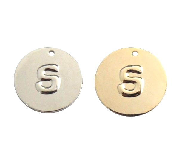 Custom Gold or Silver Jewelry Tag logo Pendant Make Your Own Pendant