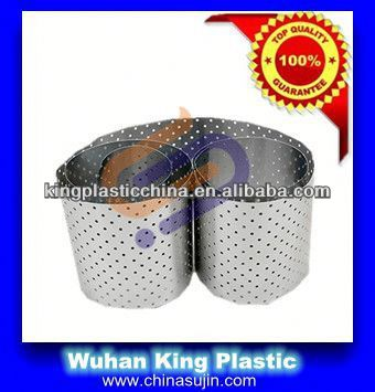 Perforated aluminium foil coated with polypropylene for composite pipes(both sides)