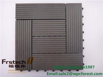 Kunststof Tegels Badkamer : Wpc anti slip buiten vloertegels 30*30cm hout kunststof composiet