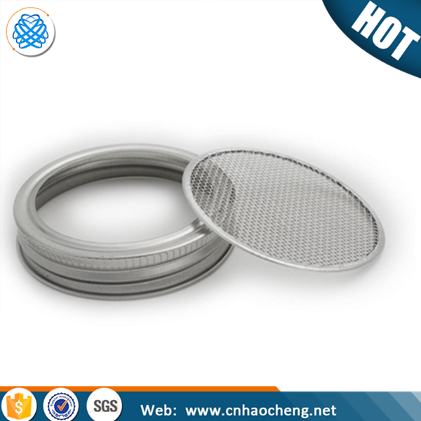 Stainless Steel Sprouting Screen for Canning Jar Strainer Lid For Sprouts,Sifting ,and Straining