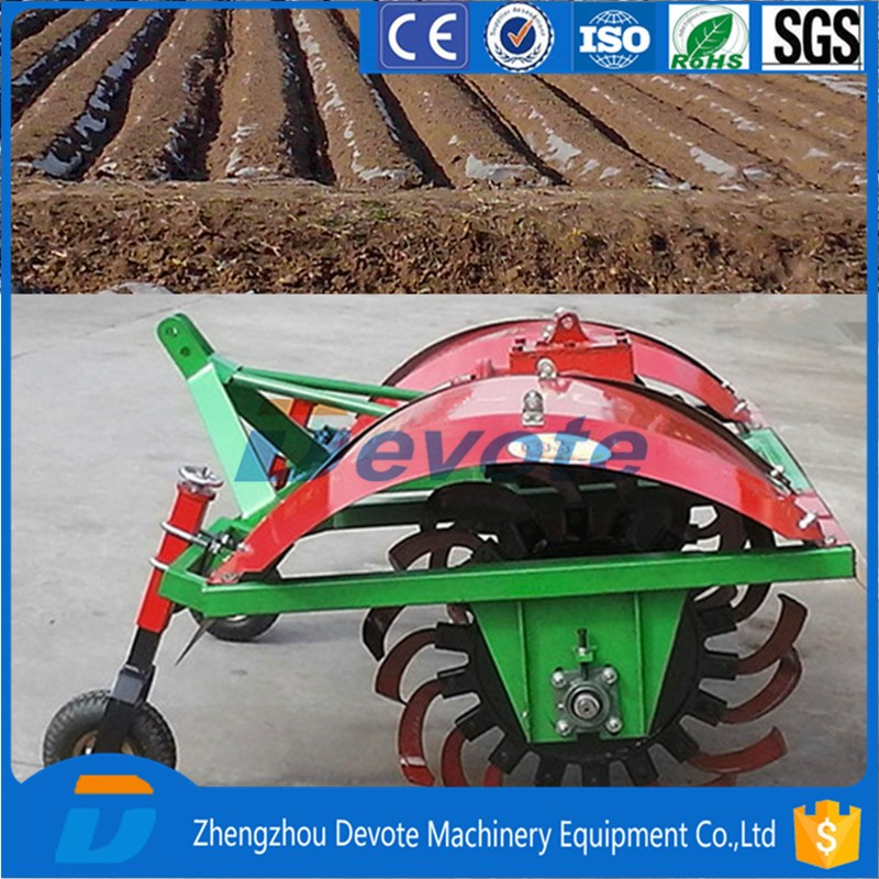 Farm Tractor drive Potato cultivator/potato earthing up machine