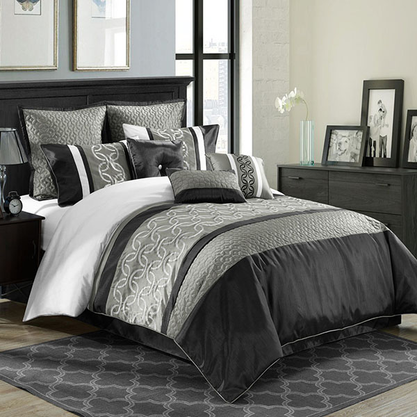 high quality brand satin quilted comforter