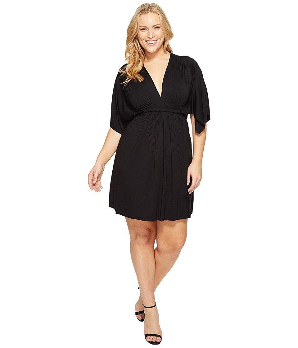 Rachel Pally Womens Plus Size Mini Caftan Dress b0bda093e