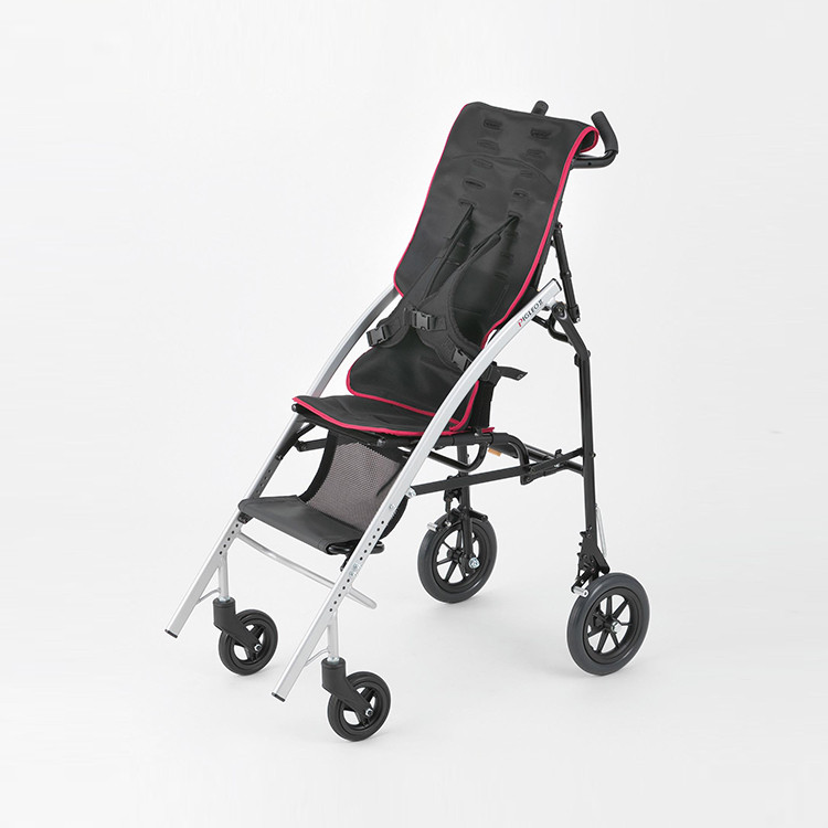 PIGLEO ll,SS Size_Folding Compact Baby Stroller in Ultra lightweight Aluminum with Adjustable Footrest & Holding Sitting Posture