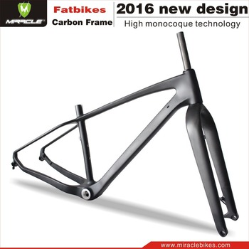Miracle Bike New Lightest Carbon Fat Bike Snow Bicycle 12x190mm Thru ...