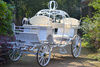 Cinderella horse carriage, big carriage wheel, electric power