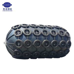 50KPA 80KPA Floating Pneumatic Rubber Fenders for Navy Ships