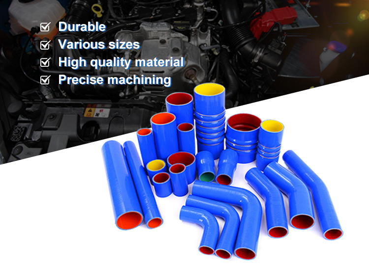 high pressure flexible corrugated heat resistant soft silicone rubber hose