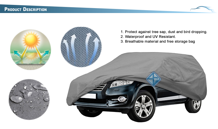 Durable SUV car cover