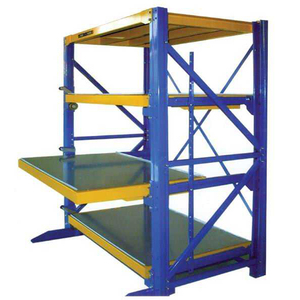 AS/RS iron shop lective high bay pallet rack