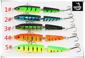 artificial stickbaits 2 section fishing lure stick baits