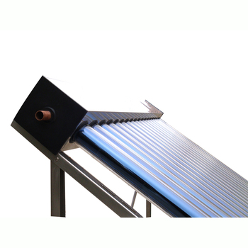 Digital glass tube with copper collector Pressure Heat Pipe Solar