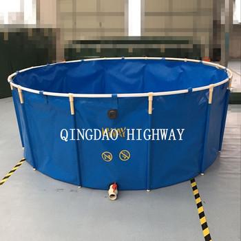 Pvc Collapsible Large Round Plastic Fish Tanks 30000