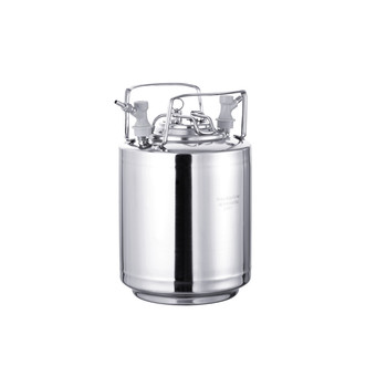 Home brewing 6L new stainless steel  ball lock Corny Keg
